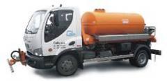 Water-jetting vehicles MK 3