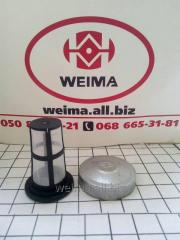 180R-A cover of the fuel tank with a grid (under a