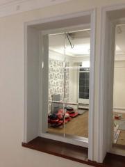 Pseudo-window from a fatsetirovanny mirror