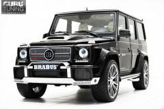 Set of weather-cloths of Brabus Widestar G63 AMG