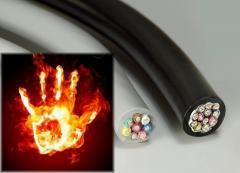 Raw materials for production of fire-resistant