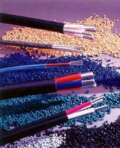 Raw materials for production of cables and wires