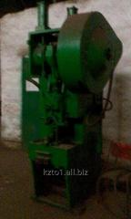 Press by effort of 40 t of KD2126
