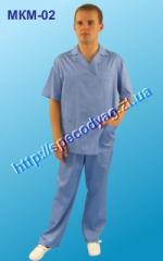 Suit for the medical sphere of MICRON 02