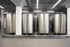 Tanks technology for foodstuff