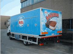 Refrigerators for transportation of Cofi foodstuff