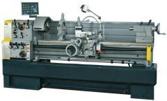 The lathe on metal (analog 16K20)