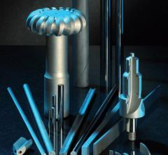 Hard-alloy cores (bars) and squared preparations