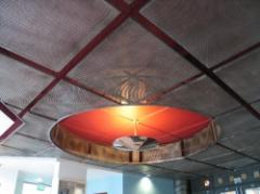The false punched ceilings