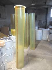Zernoprovoda (drifts) from polyurethane