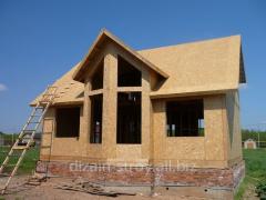 Дачні будинки із сипнув-панелей