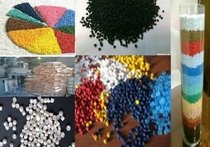 Granules plastic color for production of plastic