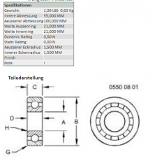 Bearing ball JD AZ49013 wholesale Ukraine