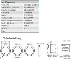 Ring lock spring JD R39081 Ukraine