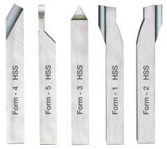 Set of turning cutters on Proxxon metal of 8х8 mm