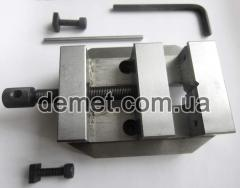 Proxxon vice from steel is milled, width of