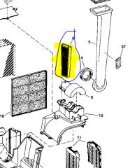 Filter air JD AH115836 Khmelnytskyi