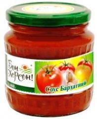 Sauces and tomato pastes Velvet, Kozatsky, House,