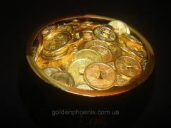 Coins on 100 gold 14