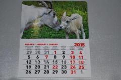 Calendar Goats on a meadow 52545512