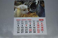 Calendar goats In love