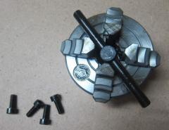 Патрон 4-х кулачковый ф 80 мм с независимыми