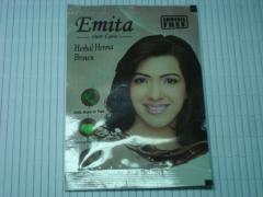 Хна для окрашивания волос Эмита Emita , 10 грамм