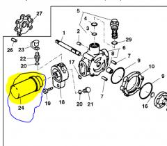 Гидравлический фильтр JD AH128449 к John Deere