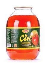 The apple juice clarified