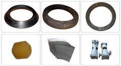 Spare parts to ARO centrifuges