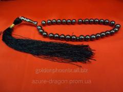 Beads from hematite