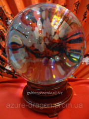Souvenir Crystal sphere of predictions of d=18sm