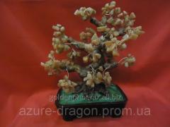 Figurine happiness Tree from a cornelian 33228766
