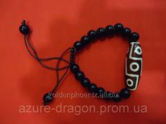 Bead of Dzi to 9 Glazov from a cornelian