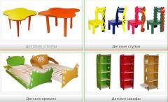 Мебель для детских комнат: детские кровати, столы,