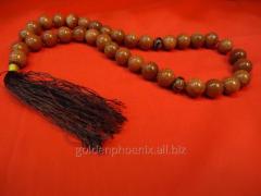 Beads from aventurine