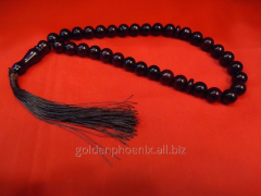 Beads from pomegranate