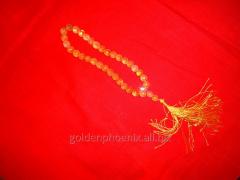 Beads from a yellow tsitrin