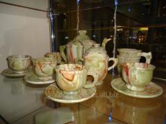 Чайный сервиз на 6 персон из оникса