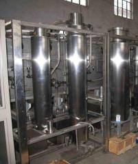 Installations of supercritical fluid CO2 of