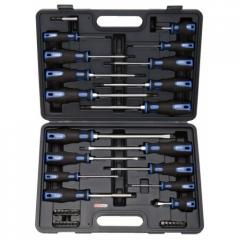Set of screw-drivers with bits (39 units) of