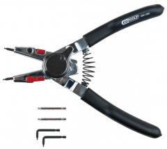Flat-nose pliers for internal and external lock