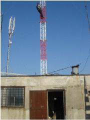 Towers and masts from metal