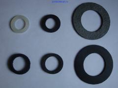 Прокладки резиновые (стандартные, нестандартн