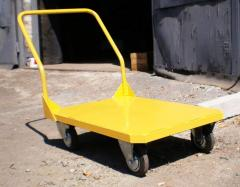 Platform load trolleys