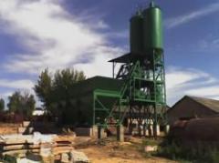 Concrete-mixing plant BZ-15, productivity 15