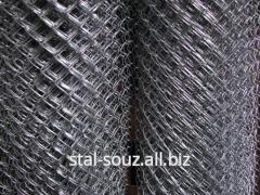 Grid chain-link galvanized 10х10х1,0