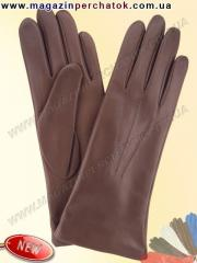 Gloves female on a woolen lining. Model No. 001