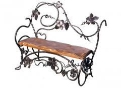 Кованые скамейки,лавки,диваны