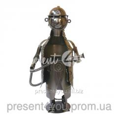 Подставка для бутылки «Пожарный» 31х16х15 см.